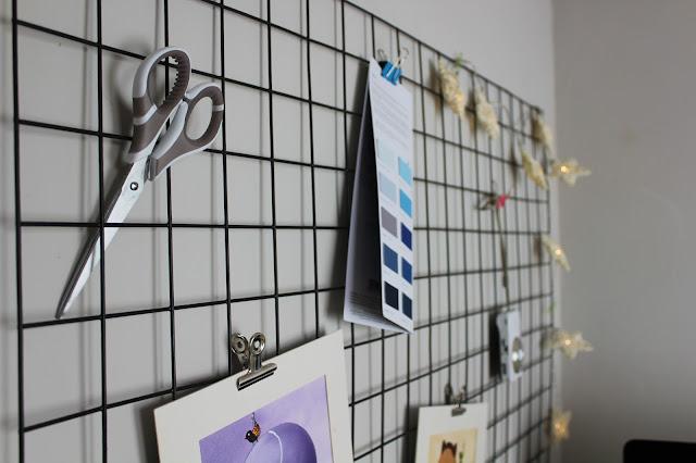 Wire Memo Board