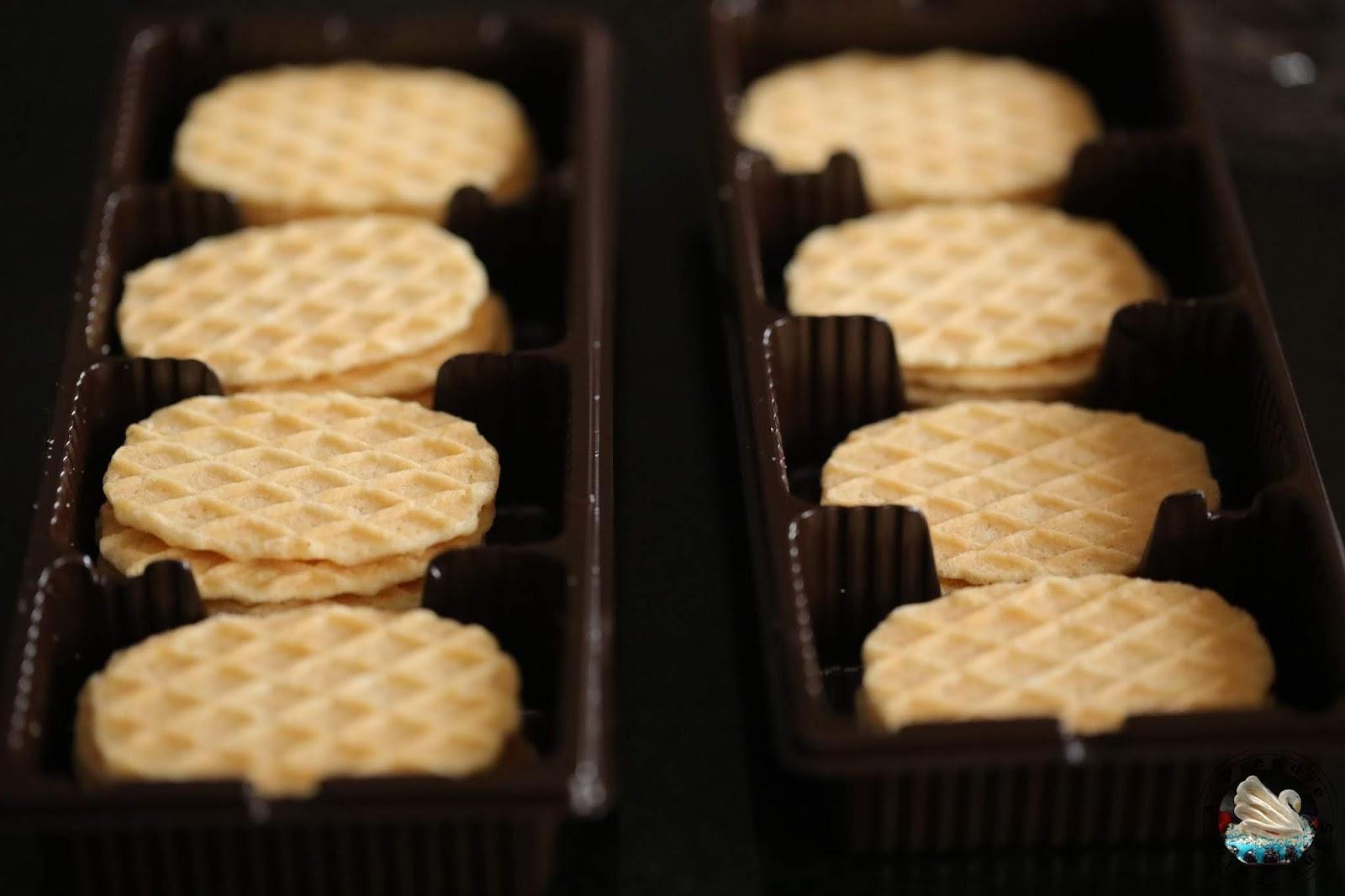 Toffee crunch gaufrette caramel