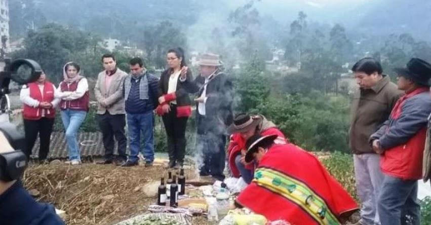 Varias instituciones se unieron en ceremonia ritual por el Año Nuevo Andino - DRE Apurímac