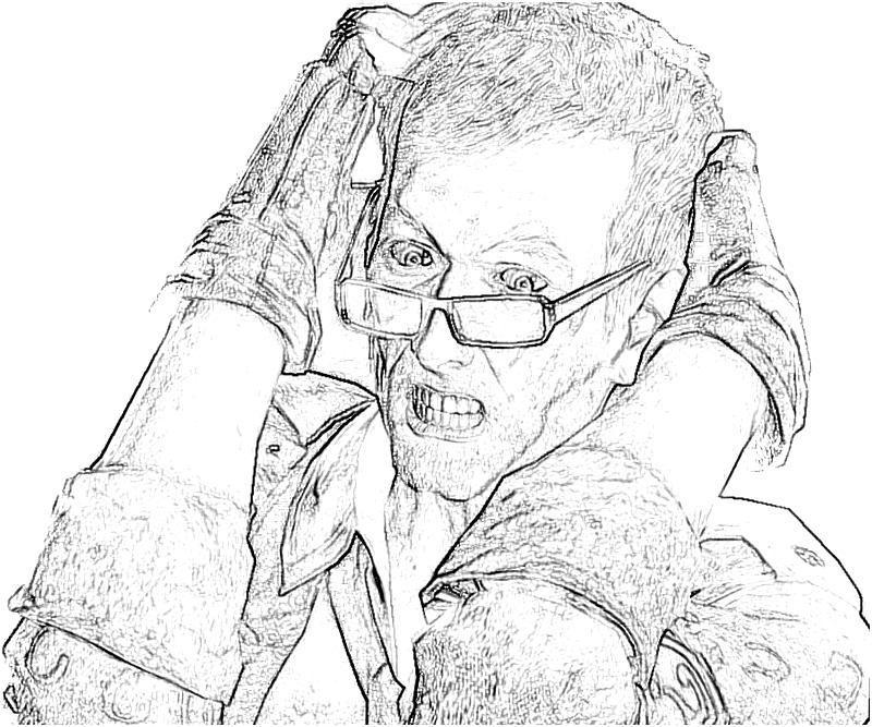 coloring pages batman riddler - photo#31