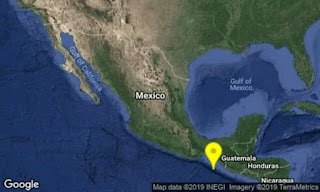 Se registran mas de 63 sismos en varias parte de mexico en laa ultimas 12 horas.