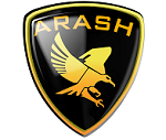 Logo Arash marca de autos