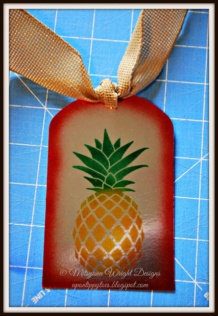 Pineapple Cut Out Stencils