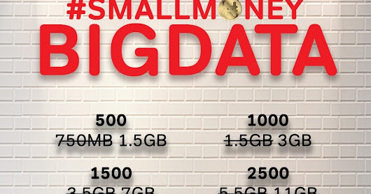 "Airtel SmartConnect ""smallmoneyBIGDATA"" - Get 7GB For N1,500 And 11GB For N2,500"