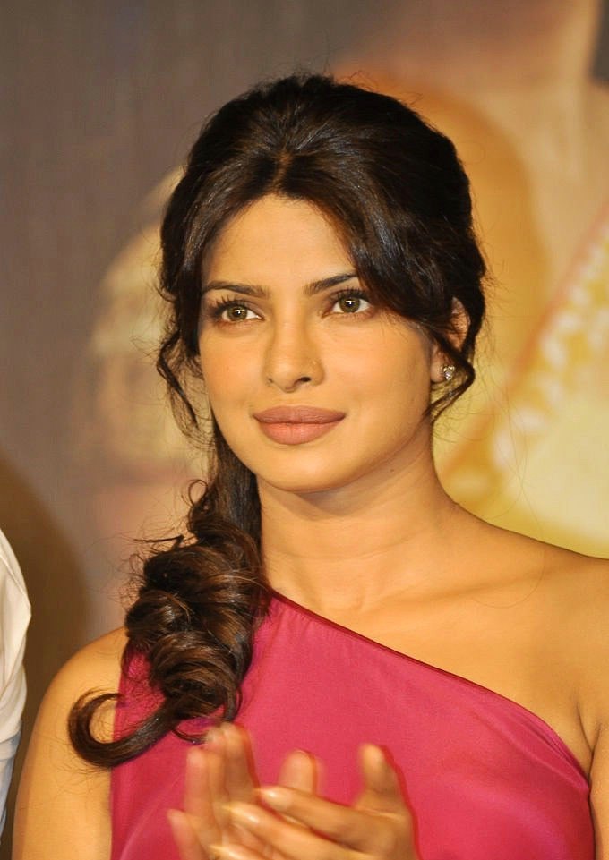Priyanka Chopra Latest Pictures In Pink Dress