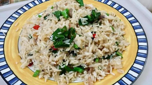 Resepi Nasi Goreng Ikan Masin Ala Thai