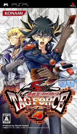 Yu Gi Oh! 5Ds Tag Force 4 PSP Español (MEGA)