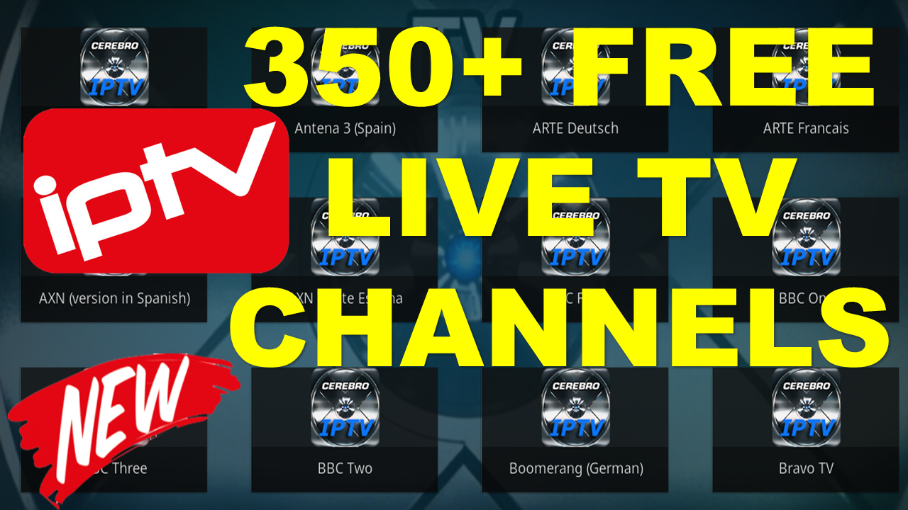BEST FREE LIVE TV ADDON FOR KODI 2018 - USA & UK TV CHANNELS