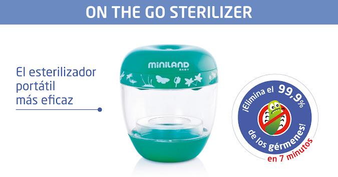 Esterilizador portátil por radiación ultravioleta y ozono