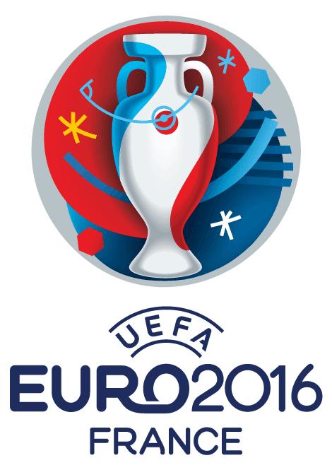 """Logo """"Eurocopa de Francia 2016"""" - vector"""