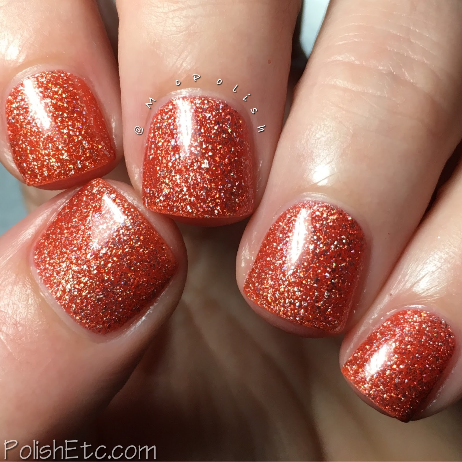 Nine Zero Lacquer - Extreme Weather Collection - McPolish - Solar Flare