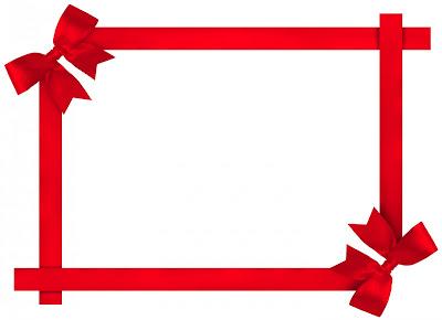 اطار ورد احمر png
