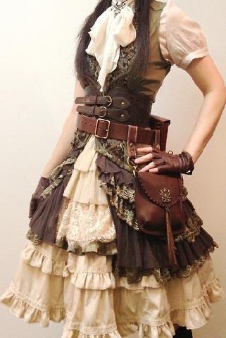 Steampunk Skirt Tutorial