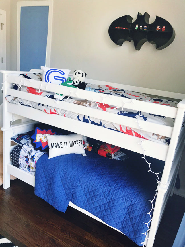 The RoomPlace Bunk Bed, Best Bunk Beds, Black and White Boy's Bedroom