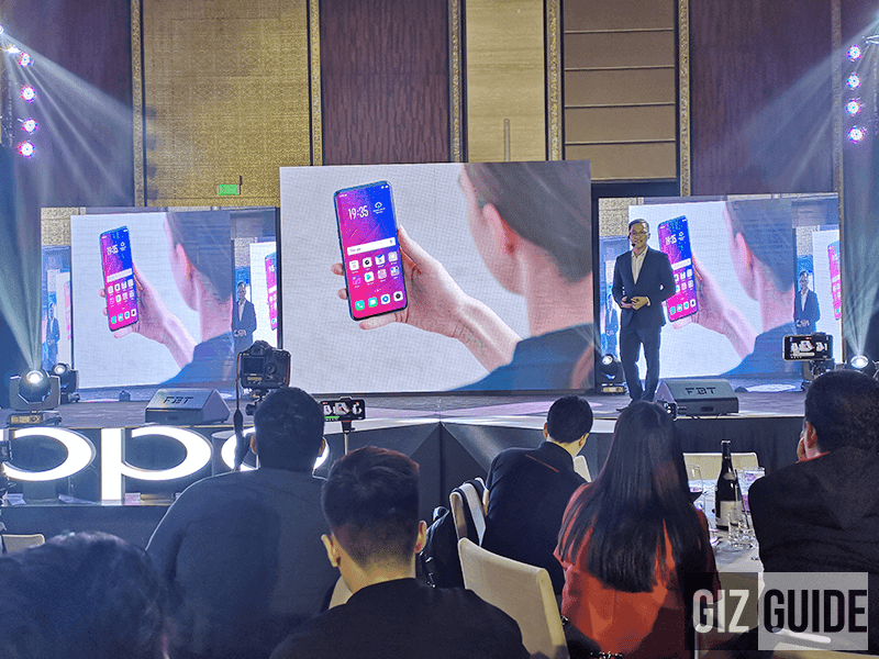 OPPO Find X, the futuristic flagship smartphone goes official in the Philippines!
