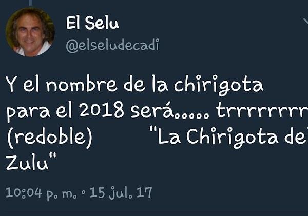La chirigota del Selu será para el COAC 2018 'La Chirigota de Zulú'