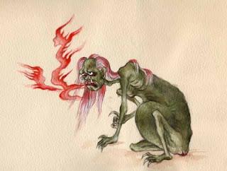 "Gaki: Preta, or ""Hungry Ghost"""