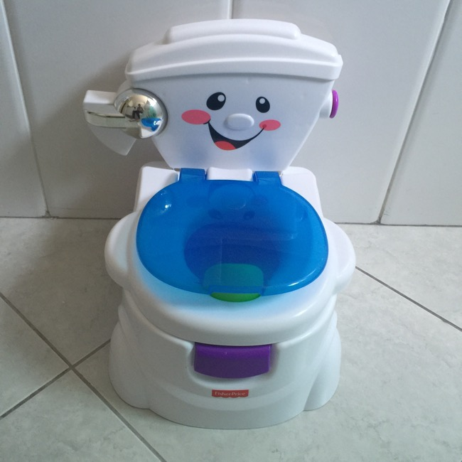 Desfralde divertido com Troninho Toilette de Fisher-Price
