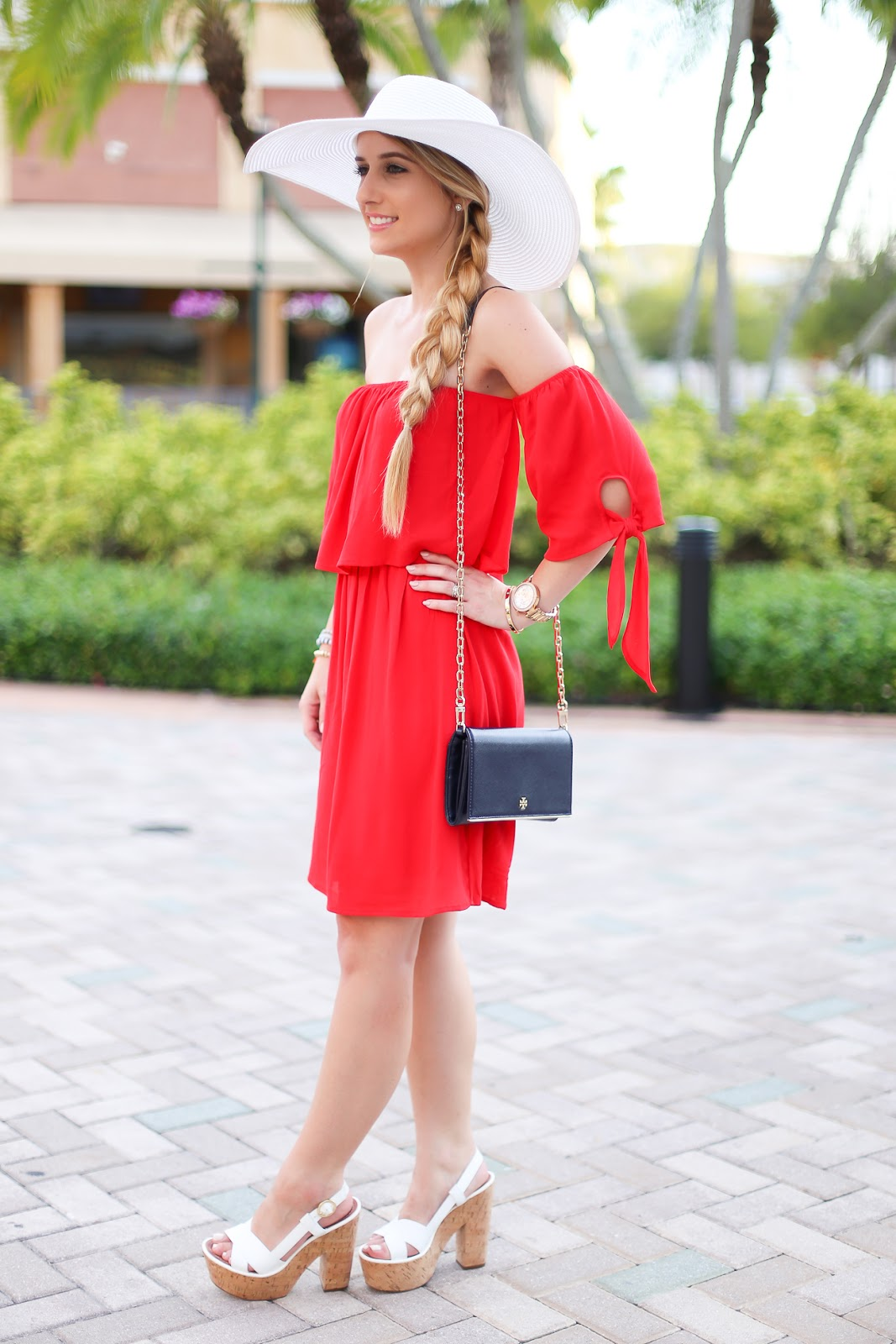 Red dress target 3 ring