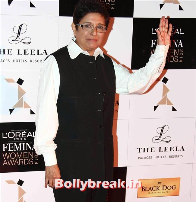 Kiran Bedi, L`Oreal Paris Femina Women Awards 2014