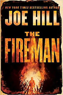 The Fireman by Joe Hill book cover