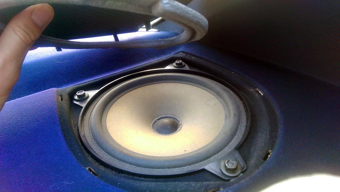 medium resolution of bmw e46 rear speaker fret removed bmw e46 rear speaker