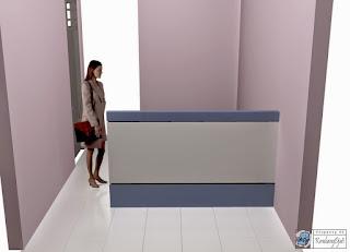 Kontraktor Interior - Meja Rapat, Almari File Bawah Tangga, Partisi Kantor dan Meja Pimpinan Kantor Minimalis