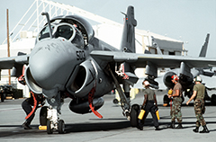 Grumman A-6 Intruder Attack Aircraft