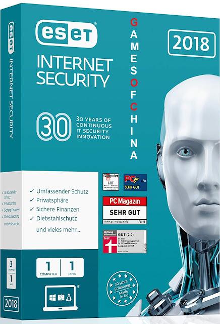ESET INTERNET SECURITY 32 BIT & 64 BIT Cover Photo
