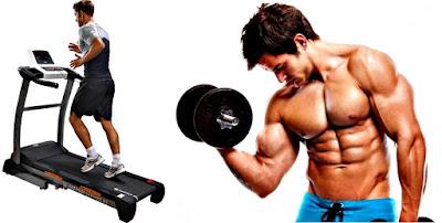Cardio pos pesas pesas atrofia muscular temporal