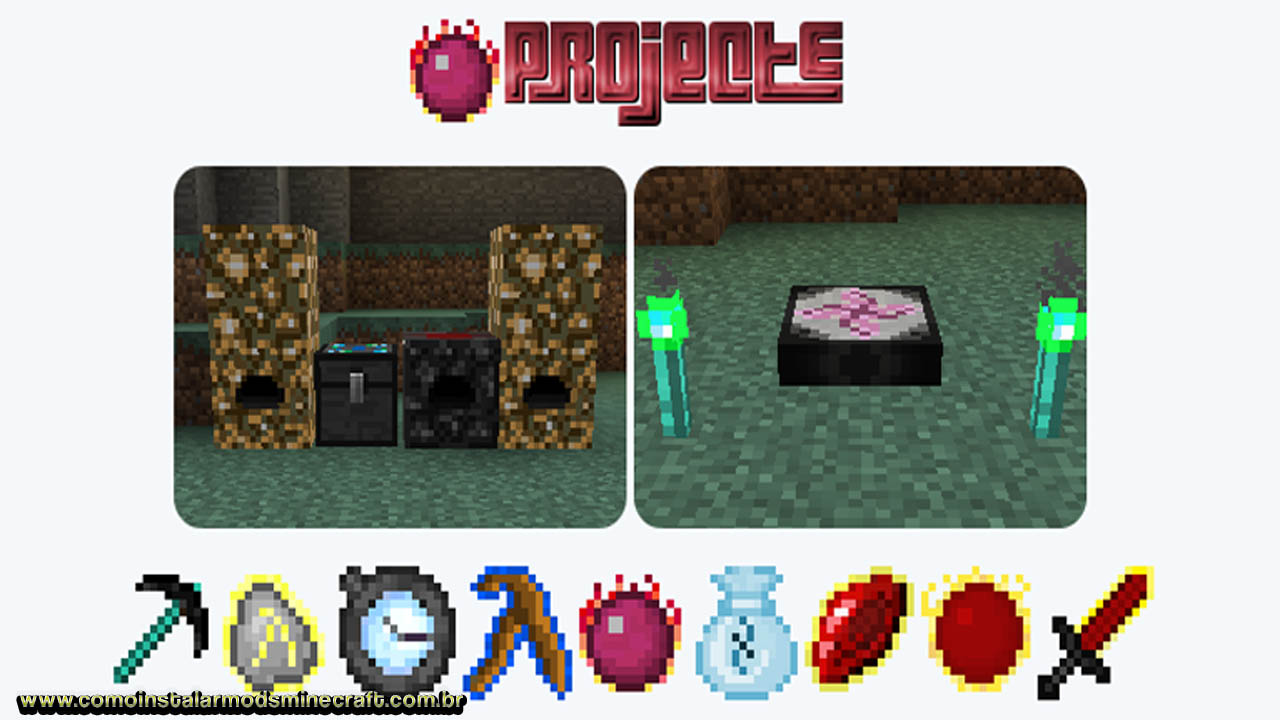 project e minecraft 1.12.2