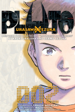 Read Naoki Urasawa's Pluto graphic novel manga