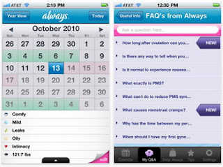 P&G Women's Always Me Period & Ovulation Tracker released on the AppStore