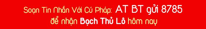 Nhận thông báo Bạch Thủ Lô: Soạn tin ATGT gửi 8785