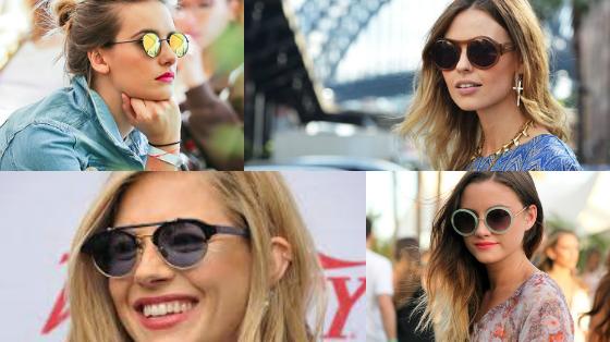 oculos redondo tasmanhos