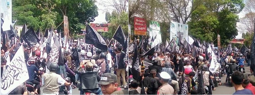 Ada Penyusup, GP Ansor: Bendera HTI Disebar ke Banyak Daerah Saat Hari Santri