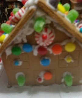 gingerbread house stage 1