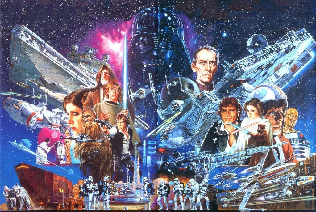 The Wertzone: Three new STAR WARS movies and a live-action TV series ...