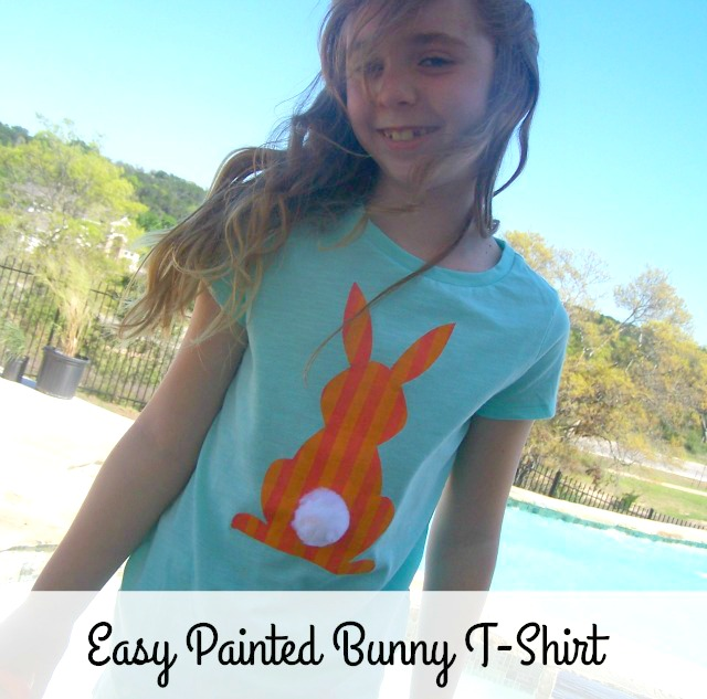 Bunny t-shirt, easter, spring