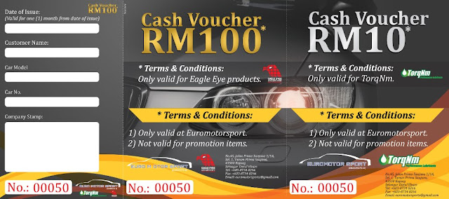 Voucher Design, Sales Voucher