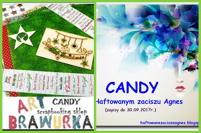 Candy u ArtBrawurki oraz w Haftowanym zaciszu Agnes