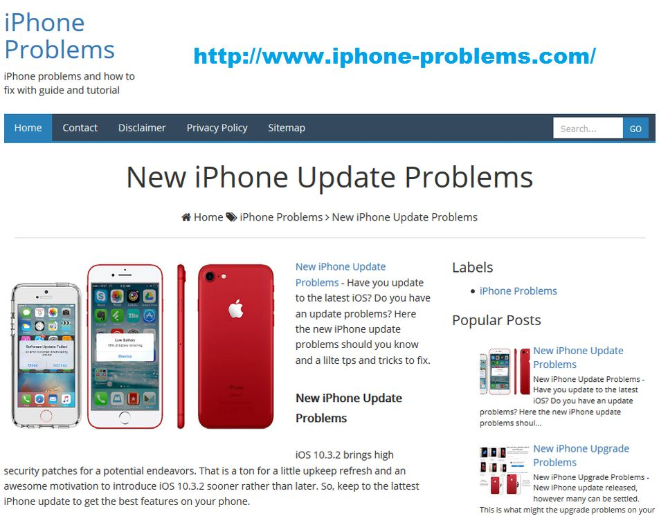 New iPhone Update Problems and Solutions How to Fix | Halamanku Halamanmu