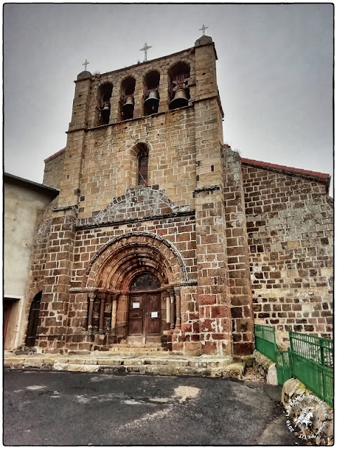 COUCOURON (07) - Eglise romane Saint-Martin