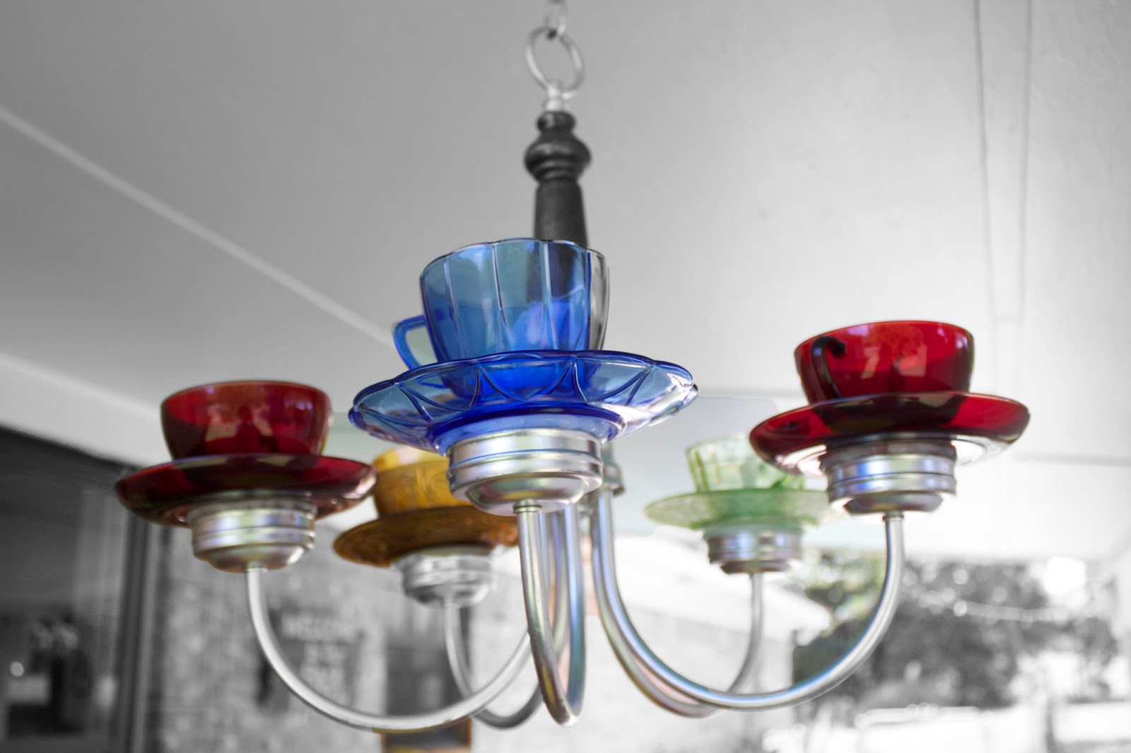 I Finally Finished The Teacup Chandelier M Loving It