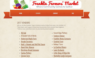 opening today - Franklin Farmers' Market