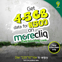 9mobile morecliq data