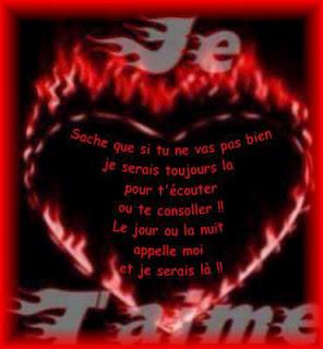 poèmes je t'aime  et je t'aime sur un poème d'amour pour une belle déclaration d'amour.