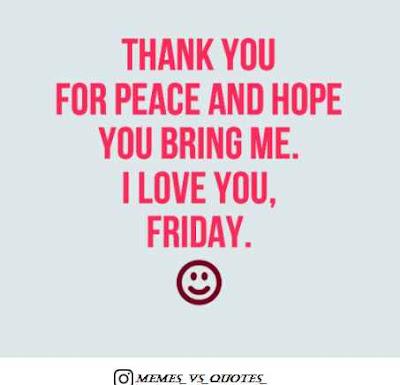 Peace friday