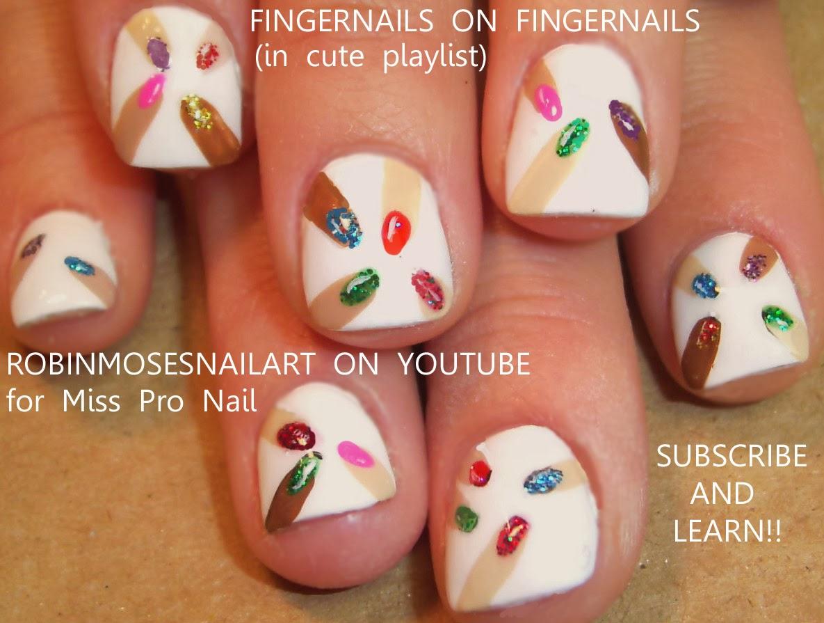 """Robin Moses Nail Art: """"pop art nails"""" """"pop nails"""" """"art pop ..."""