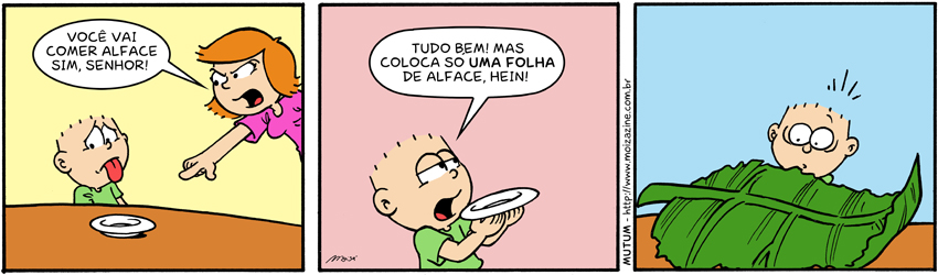 Comer alface